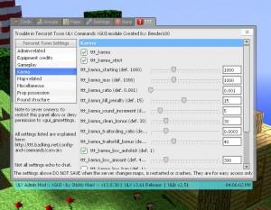 Die TTT-Erweiterung für ULX liefert euch eine große Menge an zusätzlichen Einstellungsmöglichkeiten. So könnt ihr euren Server im laufenden Betrieb ganz nach Belieben einstellen und auch mal neue Einstellungen ohne Serverstart testen.